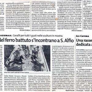 2001 Sant Alfio Articolo