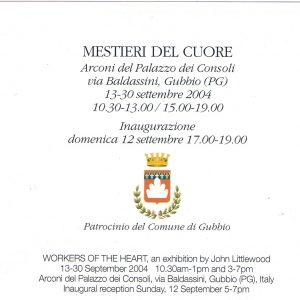 2004 Gubbio Invito