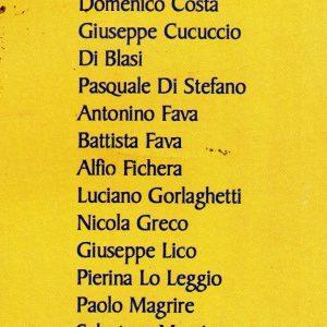2005 Mascalucia partecipanti