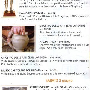 2006 Perugia Programma