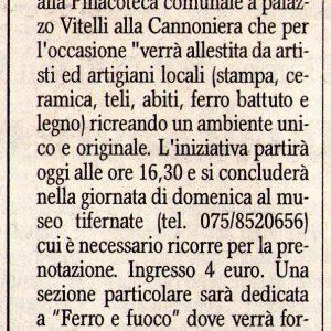 2009 Citta di Castello Corriere dell Umbria 11.07.2009
