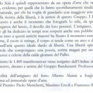 2010 Gubbio Discorso