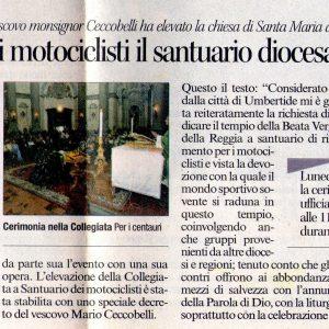 2012 Umbertide Corriere dell'Umbria 07 Aprile 2012