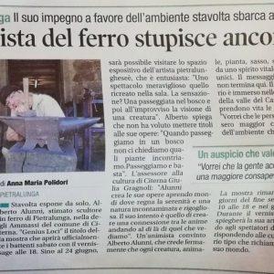 2018 Genius Loci Citerna Corriere dell Umbria