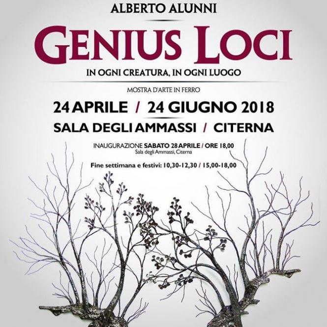 2018 Genius Loci Citerna Manifesto